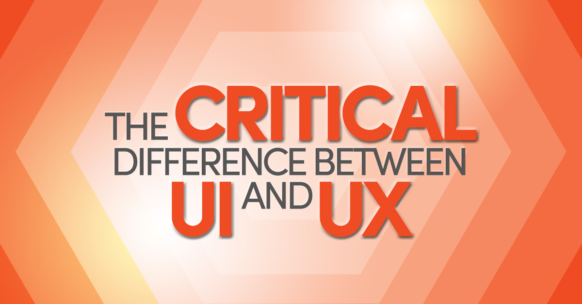 User Experience vs. User Interface